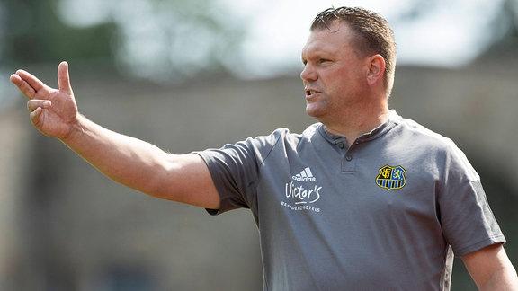 Trainer Uwe Koschinat