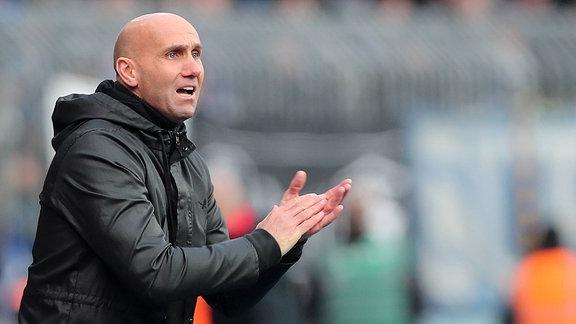 Trainer Andre Schubert (Eintracht Braunschweig)