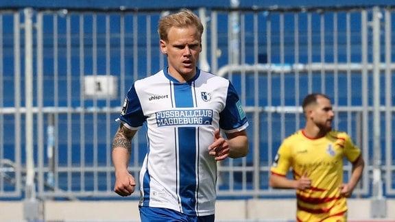 Sören Bertram vom 1. FC Magdeburg