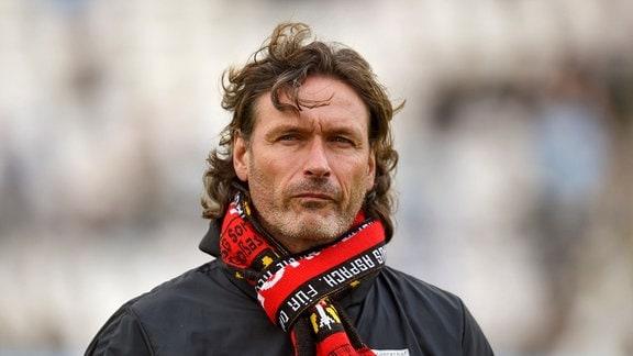 Trainer Oliver Zapel (Großaspach)