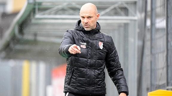 Cheftrainer Alexander Schmidt (Türkgücü München)