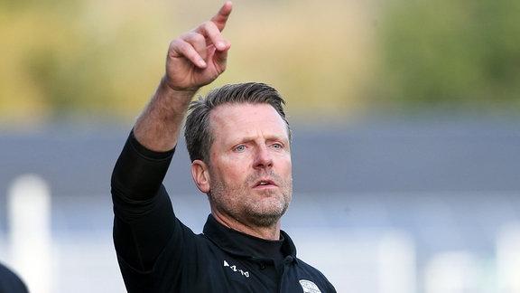 Rico Schmitt ( Trainer FC Carl Zeiss Jena)