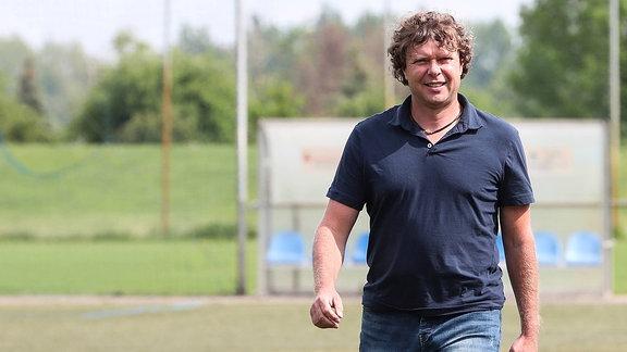 Trainer Stefan Krämer (1. FC Magdeburg)
