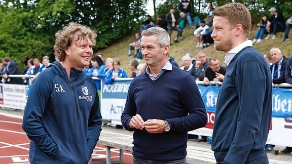 Stefan Krämer, Mario Kallnik und Maik Franz