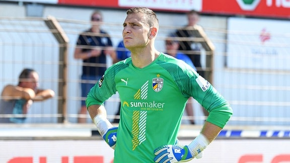 Torhüter Jo Coppens, FC Carl Zeiss Jena