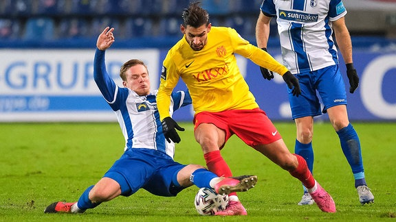 Thore Jacobsen gegen Luka Tankulic