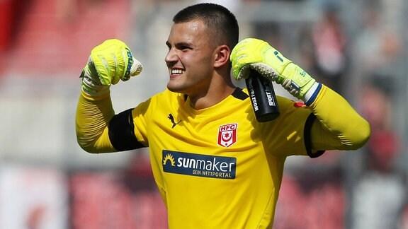Tim Schreiber (Torwart Hallescher FC)