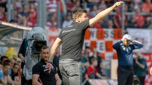 Torsten Ziegner (Chef-Trainer, HFC)
