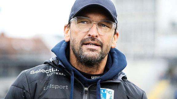 Trainer Claus Dieter Pele Wollitz