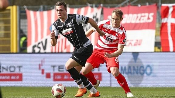 Luca Schnellbacher und Rene Lange
