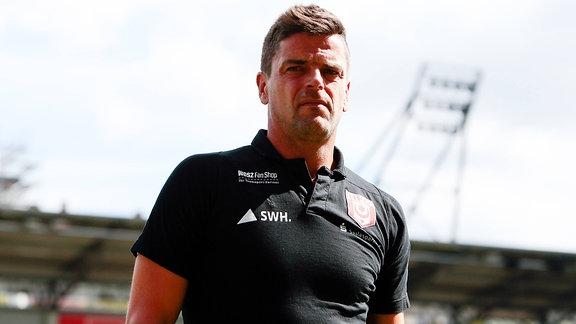 Torsten Ziegner (Trainer Hallescher FC)