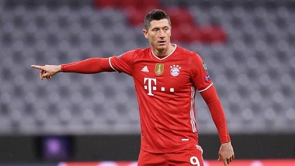 Robert Lewandowski FC Bayern Muenchen