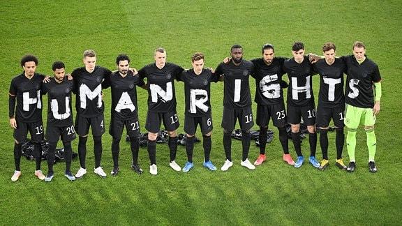 Mannschaftsfoto der Deutschen Fußball-Nationalmannschaft