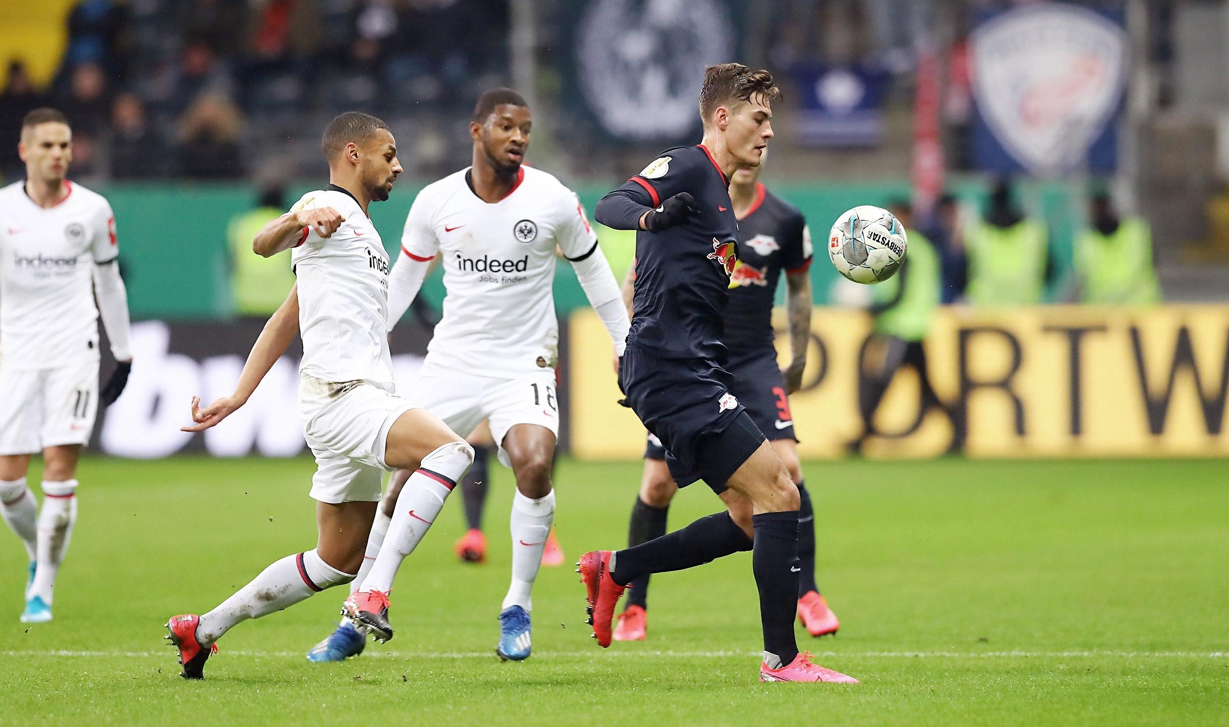 Pokalspiel Eintracht