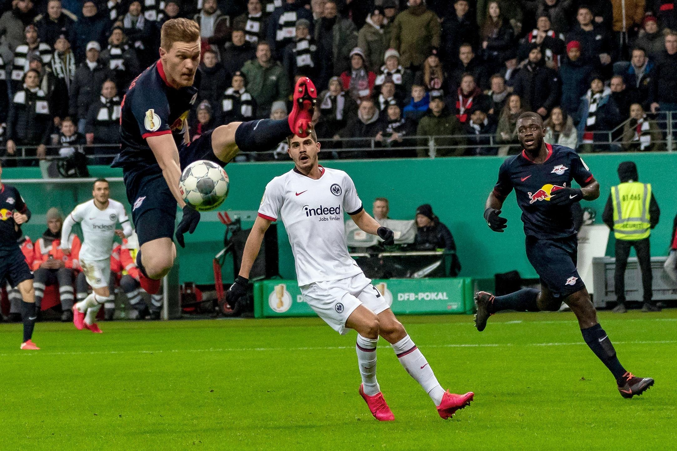 Rb Leipzig Pokalspiel