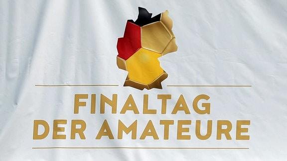 Das Logo vom Finaltag der Amateure.