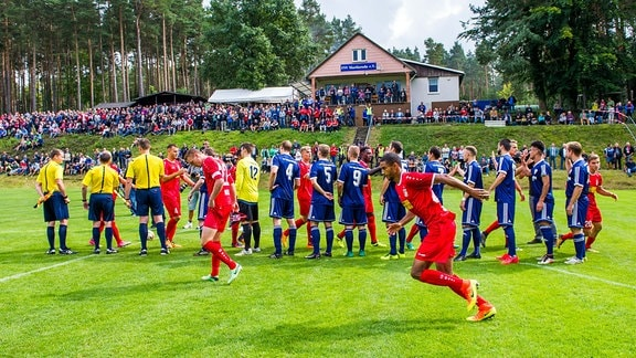 Thüringenpokal 2. Runde FSV Martinroda : FC Rot-Weiß Erfurt Aktion