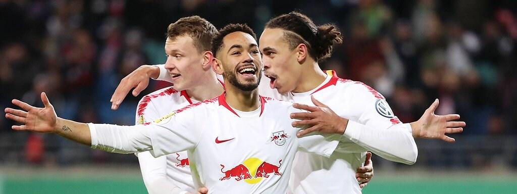 Rb Leipzig Gegen Vfl Wolfsburg In Bildern Mdr De