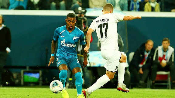 Spieler vom Club Zenit Malcolm