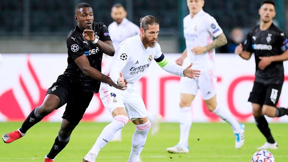 Marcus Thuram gegen Real Madrid