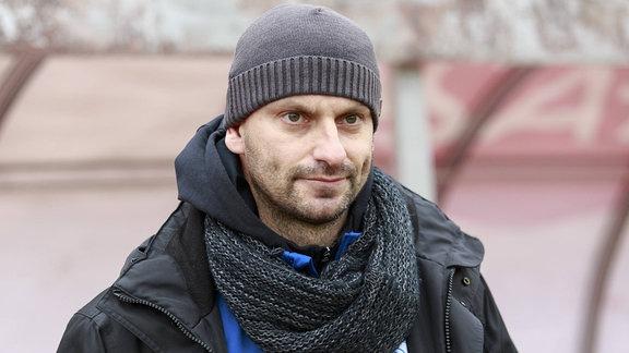 Miroslav Jagatic (neuer Trainer Chemie Leipzig)