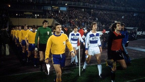 Carl Zeiss Jena beim MSV Duisburg (1.11.1978)
