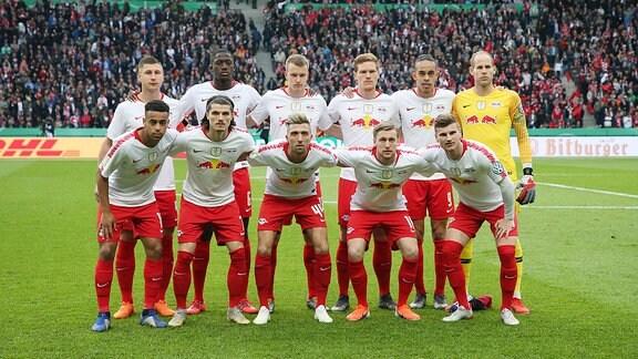 Die Mannschaft von RB Leipzig