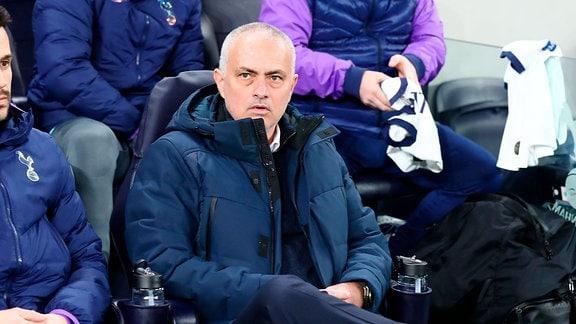 Trainer Jose Mourinho, Tottenham Hotspur