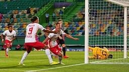 RB Leipzig gegen Atletico Madrid (Champions-League-Viertelfinale)