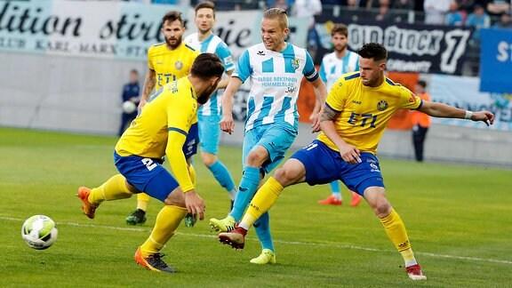 Chemnitzer FC - 1. FC Lok Leipzig (Sachsenpokal)