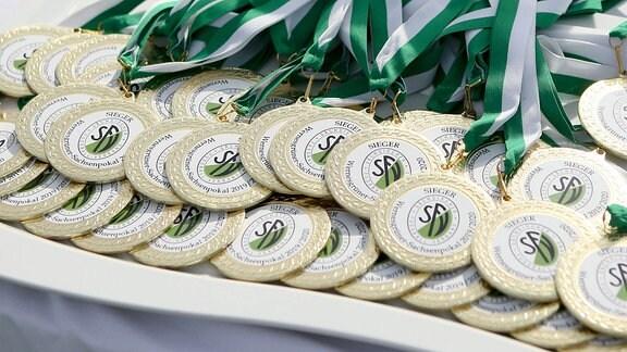 SFV Pokalsieger 2020 Medaillen