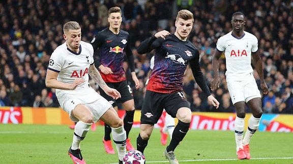 Toby Alderweireld 4, Tottenham und Timo Werner