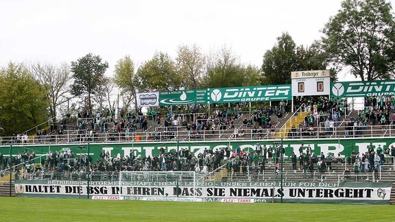 Alfred-Kunze-Sportpark in Leutzsch