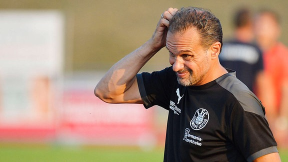 Almedin Civa Trainer und Sportlicher Leiter Lok Leipzig