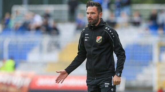 Benjamin Duda (Trainer VfB Germania Halberstadt)