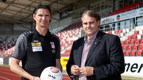 Thomas Brdaric und Oliver Bornemann