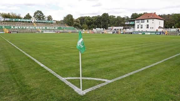 Eckfahne im Alfred-Kunze-Sportpark