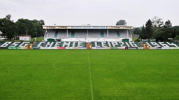 Blick in den Alfred-Kunze-Sportpark