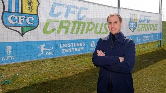 Marcus Jahn, Leiter des CFC- Nachwuchsleistungszentrums