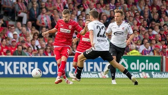 Energie Cottbus gegen ZFC Meuselwitz (Regionalliga Nordost)