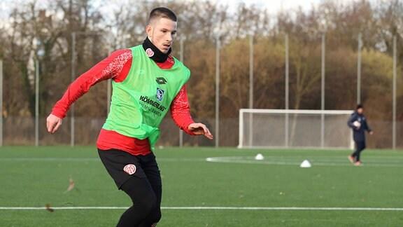 Raffael Cvijetkovic beim Training.