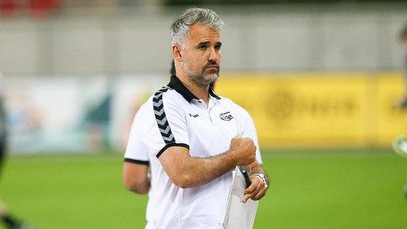 Co-Trainer Daniel Rupf, Meuselwitz