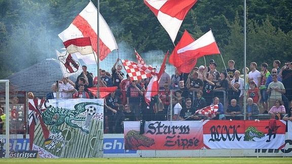Fans des ZFC Meuselwitz
