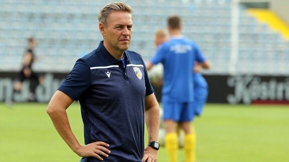 Trainer Dirk Kunert, FC Carl Zeiss Jena