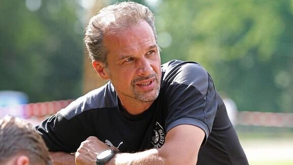 Trainer und Sportdirektor Almedin CIVA Lok Leipzig