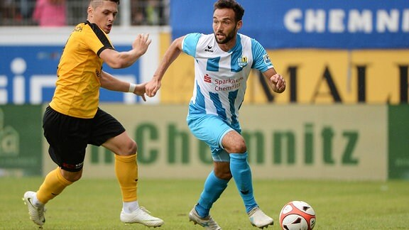 Amer Kadric und Fabian Müller