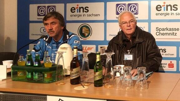 Gerd Schädlich, Gerhard Oertel und Jens Keller