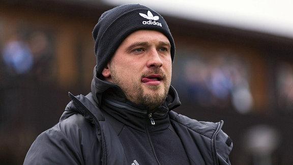 Trainer Maximilian Dentz (VfB Germania Halberstadt)