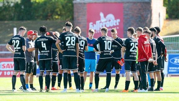 Mannschaft von Germania Halberstadt