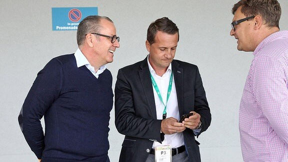 Klaus Siemon und Thomas Sobotzik